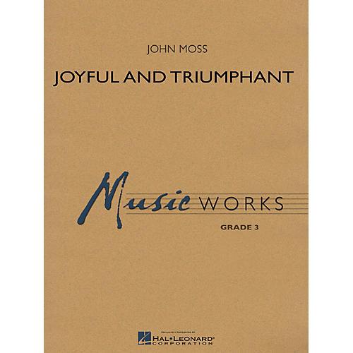 Hal Leonard Joyful and Triumphant Concert Band Level 3 thumbnail