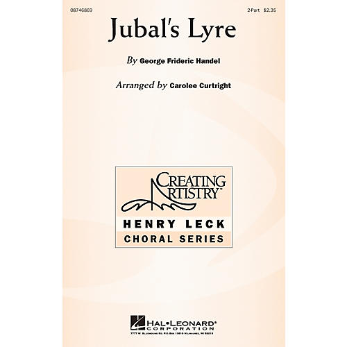 Hal Leonard Jubal's Lyre 2-Part arranged by Carolee Curtright thumbnail