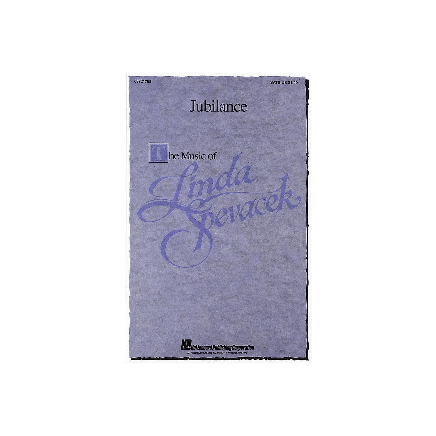 Hal Leonard Jubilance SATB composed by Linda Spevacek thumbnail