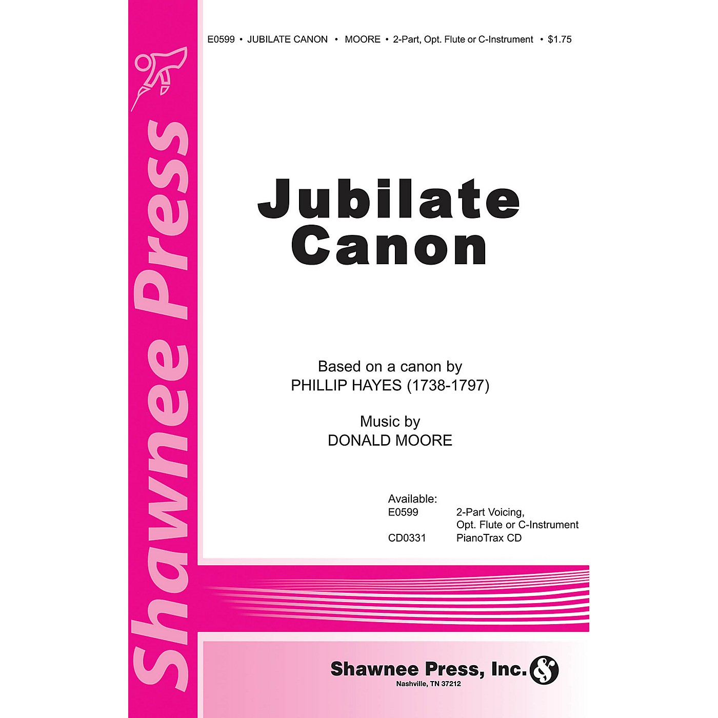 Shawnee Press Jubilate Canon 2-Part composed by Phillip Hayes thumbnail