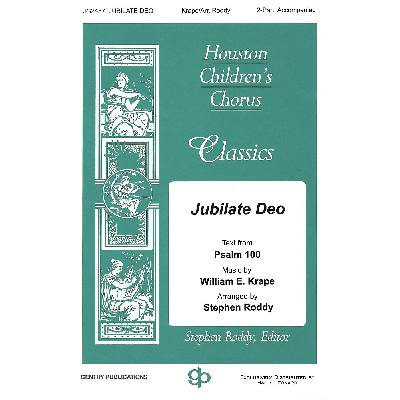 Gentry Publications Jubilate Deo 2-Part arranged by Stephen Roddy thumbnail