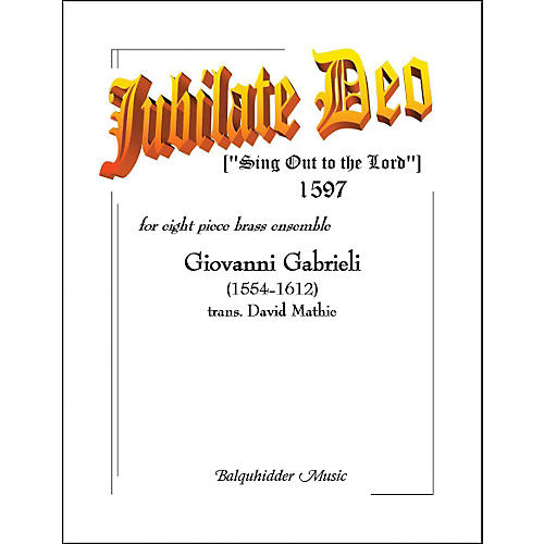 Carl Fischer Jubilate Deo Book thumbnail