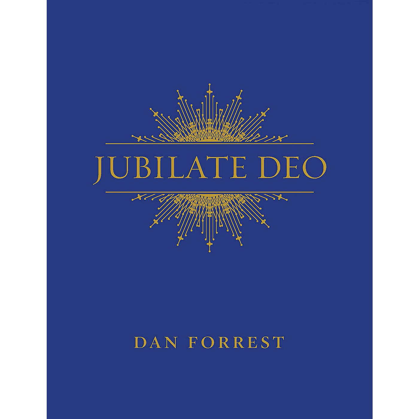 Hinshaw Music Jubilate Deo Full Score Composed by Dan Forrest thumbnail