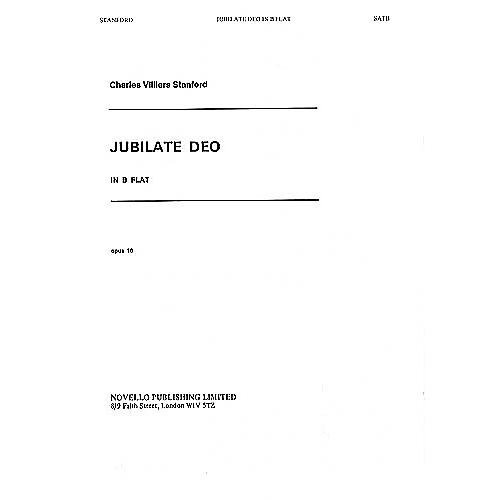 Novello Jubilate Deo in B-flat, Op. 10 SATB, Organ Composed by Charles Villiers Stanford thumbnail