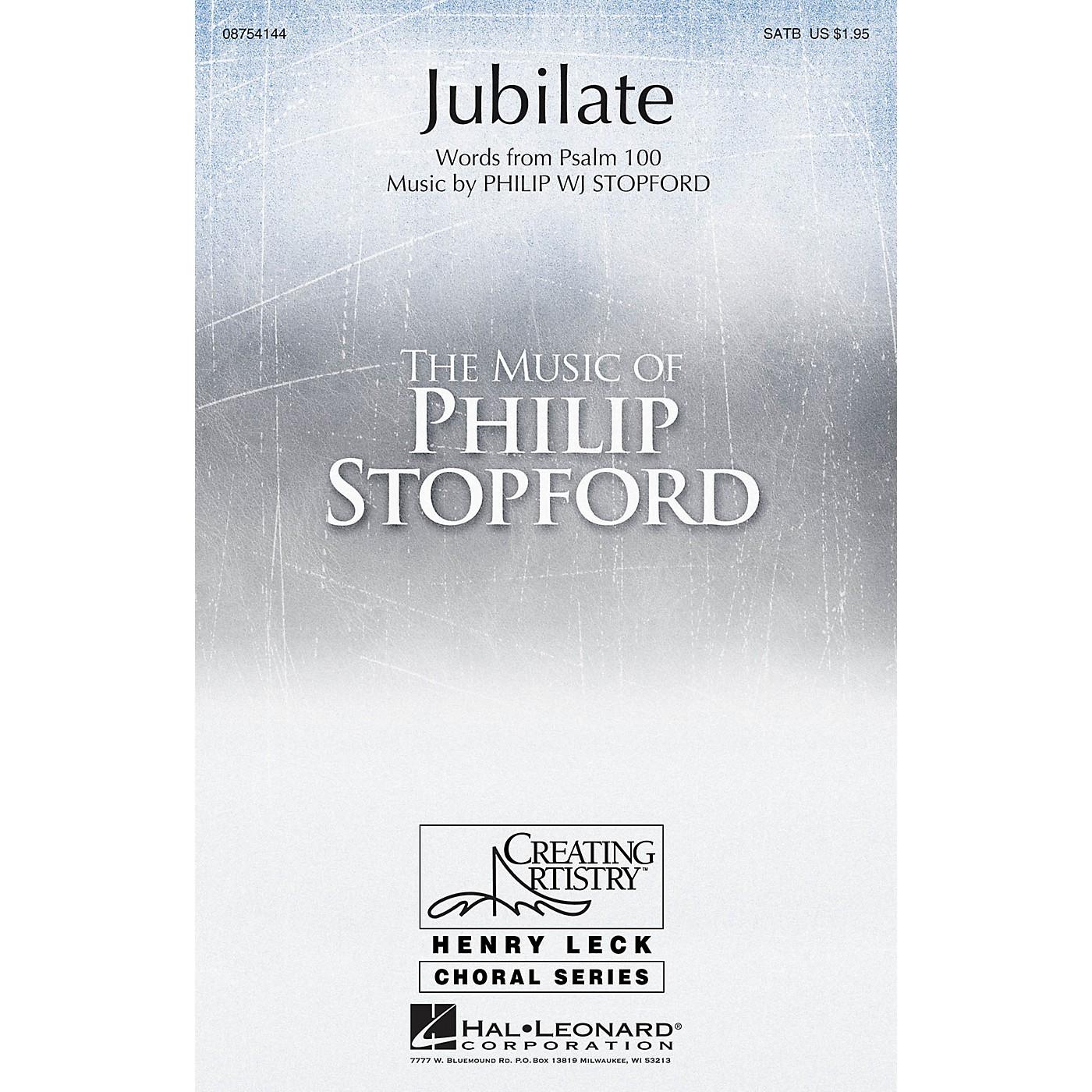 Hal Leonard Jubilate SATB composed by Philip Stopford thumbnail