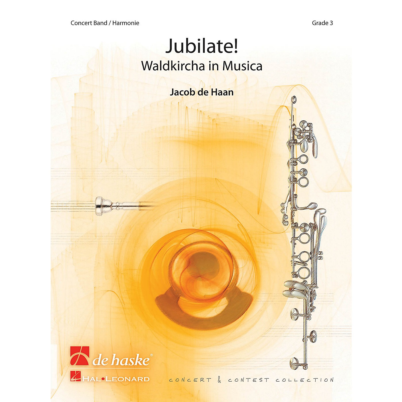 De Haske Music Jubilate! (Waldkircha in Musica) Concert Band Level 4 Composed by Jacob de Haan thumbnail