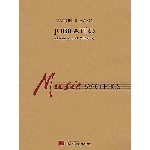 Hal Leonard Jubilatéo (Fanfare and Allegro) Concert Band Level 5 Composed by Samuel R. Hazo thumbnail