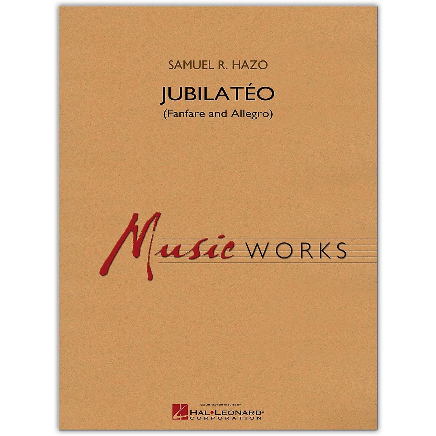 Hal Leonard Jubilato (Fanfare and Allegro) MusicWorks Concert Band Grade 5 thumbnail