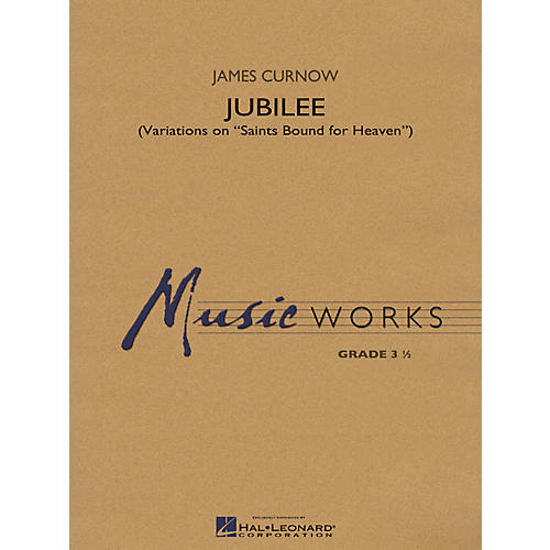 Hal Leonard Jubilee (Variations on Saints Bound for Heaven) - Music Works Series Grade 3 thumbnail