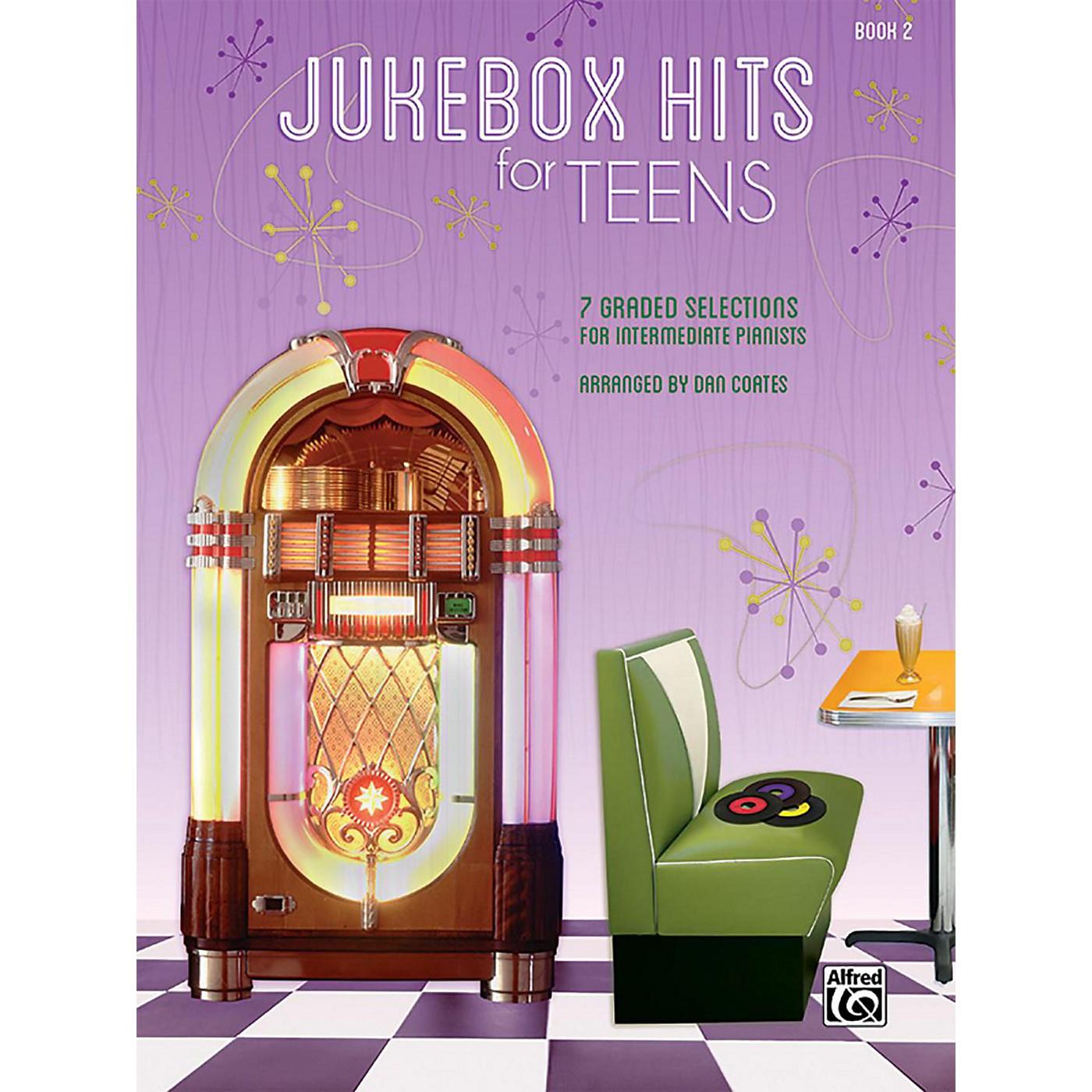 Alfred Jukebox Hits for Teens Book 2 Intermediate Songbook thumbnail