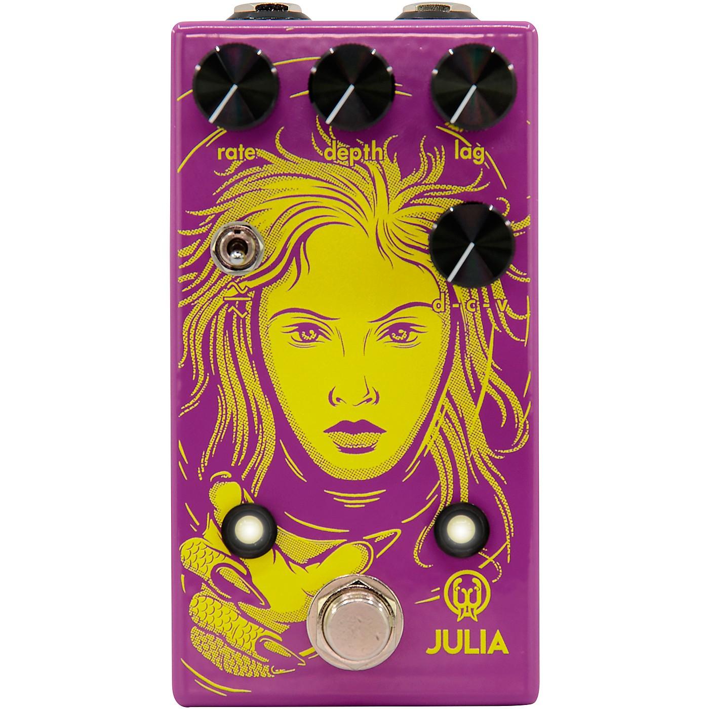 Walrus Audio Julia Limited-Edition Neon Chorus/Vibrato Effects Pedal thumbnail