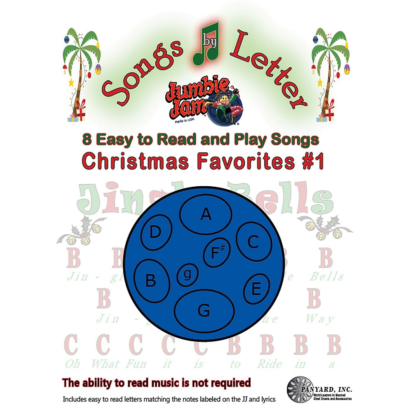 Panyard Jumbie Jam Songs by Letter Song Book - Christmas thumbnail