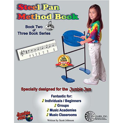 Panyard Jumbie Jam Steel Pan Method Book 2 thumbnail