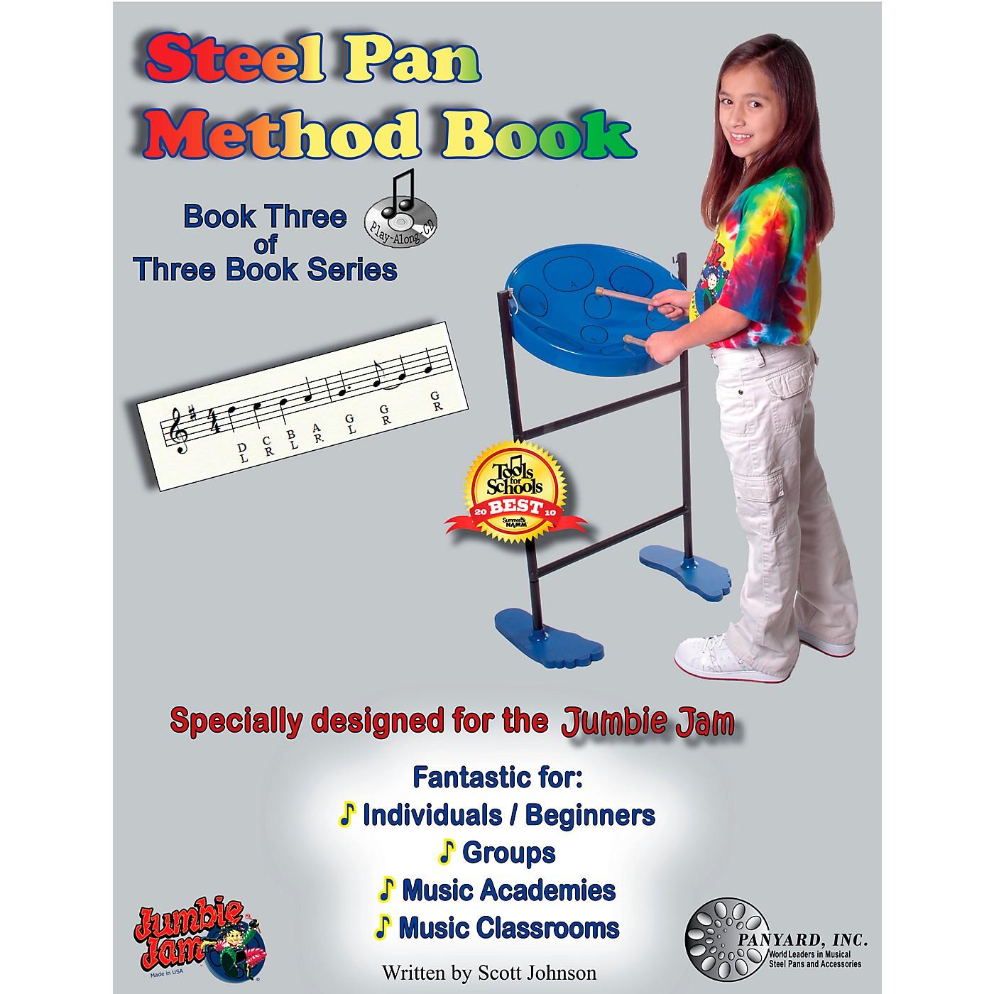 Panyard Jumbie Jam Steel Pan Method Book 3 thumbnail