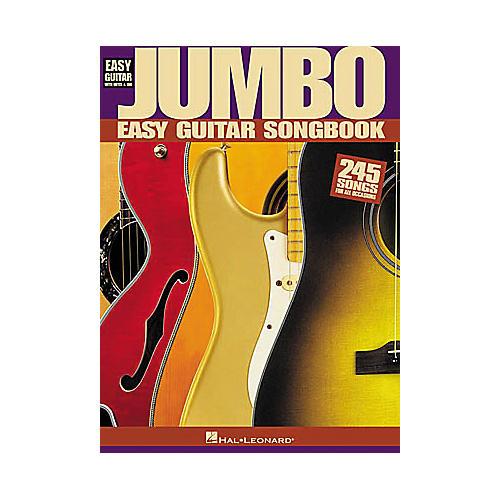 Hal Leonard Jumbo Easy Guitar Tab Book thumbnail