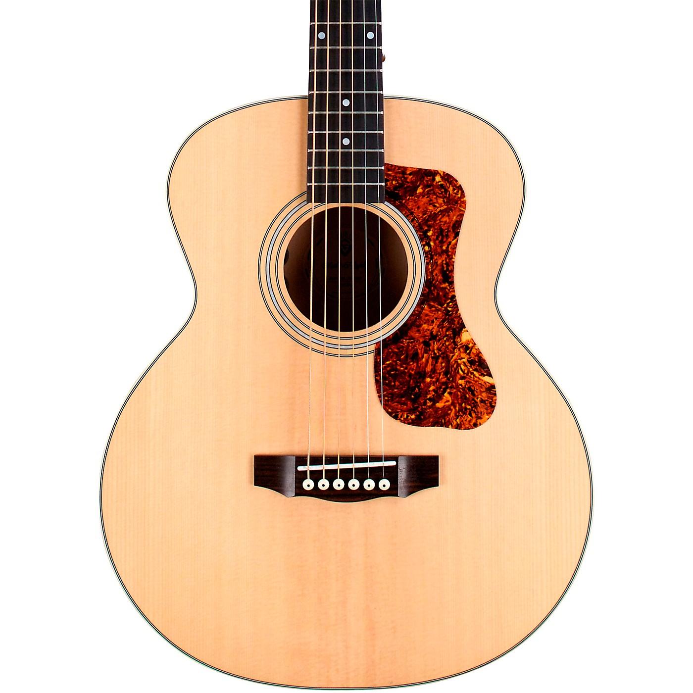 Guild Jumbo Junior Flamed Maple Acoustic-Electric Guitar thumbnail