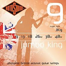 Rotosound Jumbo King Super Light Phosphor Bronze Acoustic Guitar Strings