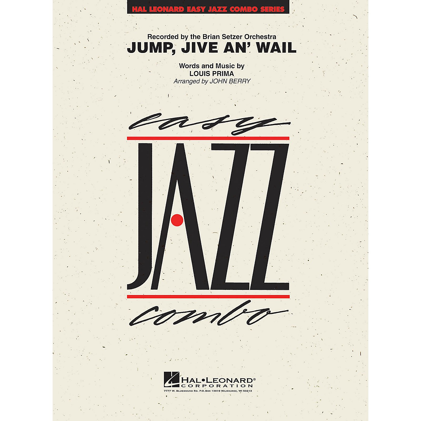 Hal Leonard Jump, Jive An' Wail Jazz Band Level 2 Arranged by John Berry thumbnail