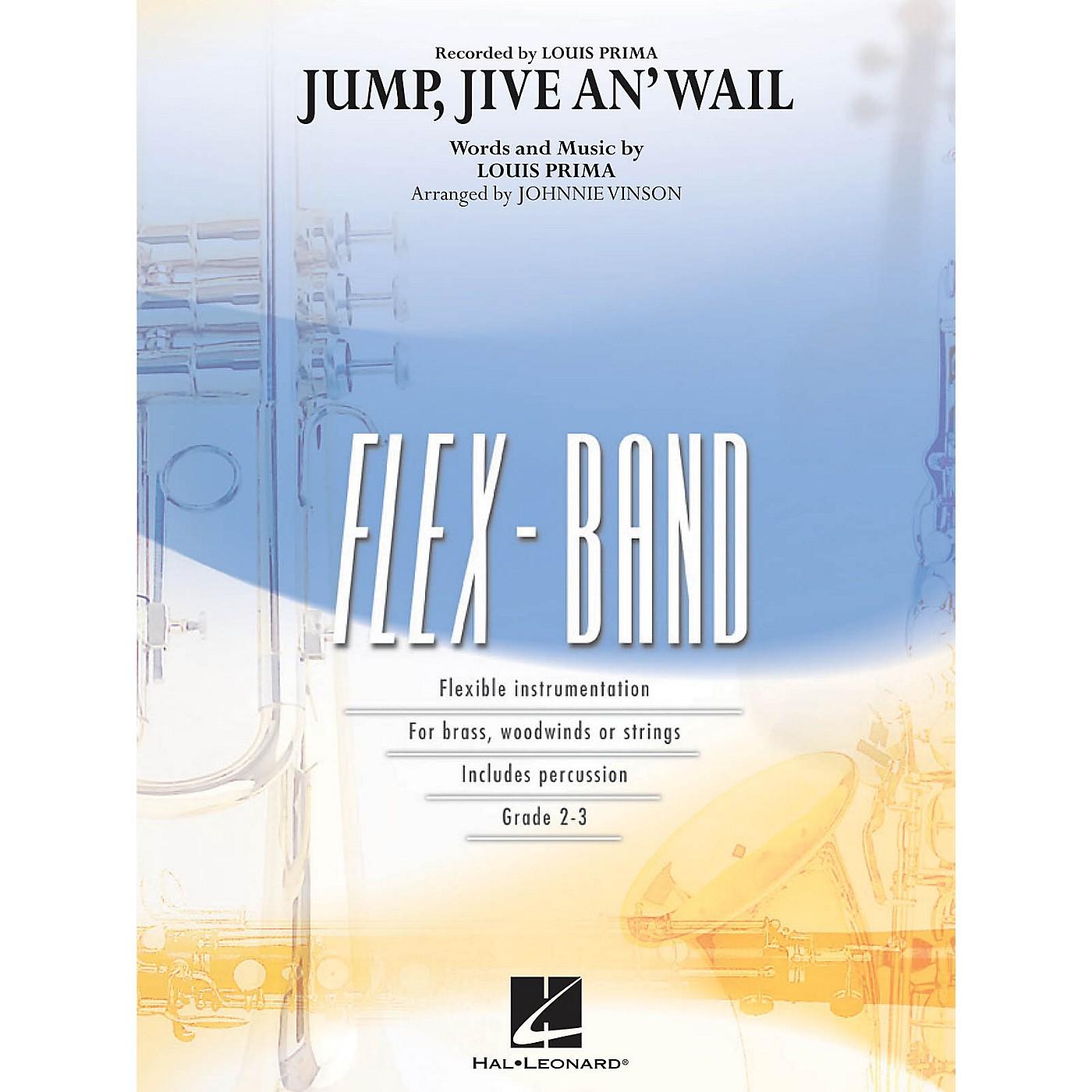 Hal Leonard Jump, Jive an' Wail Concert Band Level 2-3 Arranged by Johnnie Vinson thumbnail