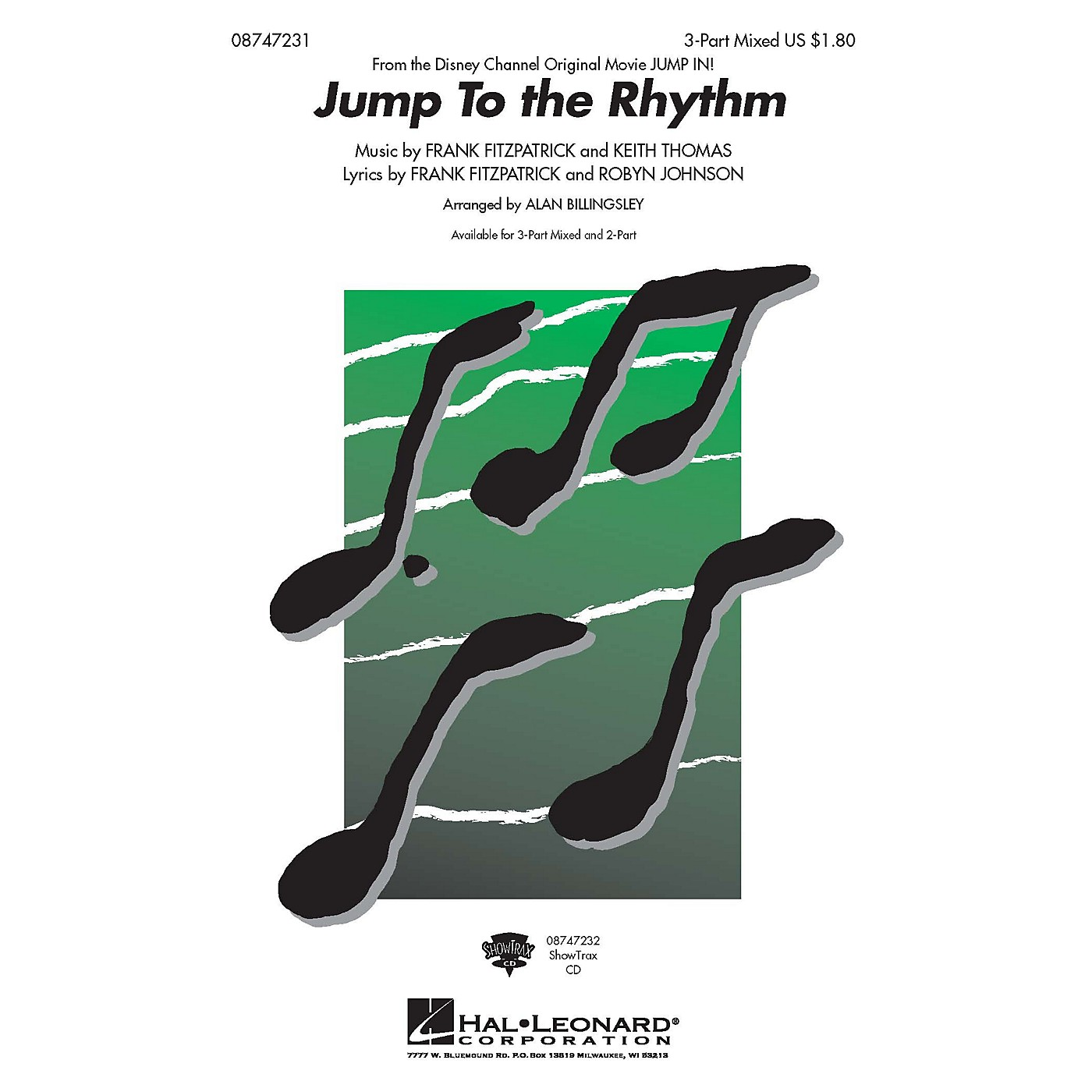 Hal Leonard Jump to the Rhythm (from Jump In) ShowTrax CD Arranged by Alan Billingsley thumbnail