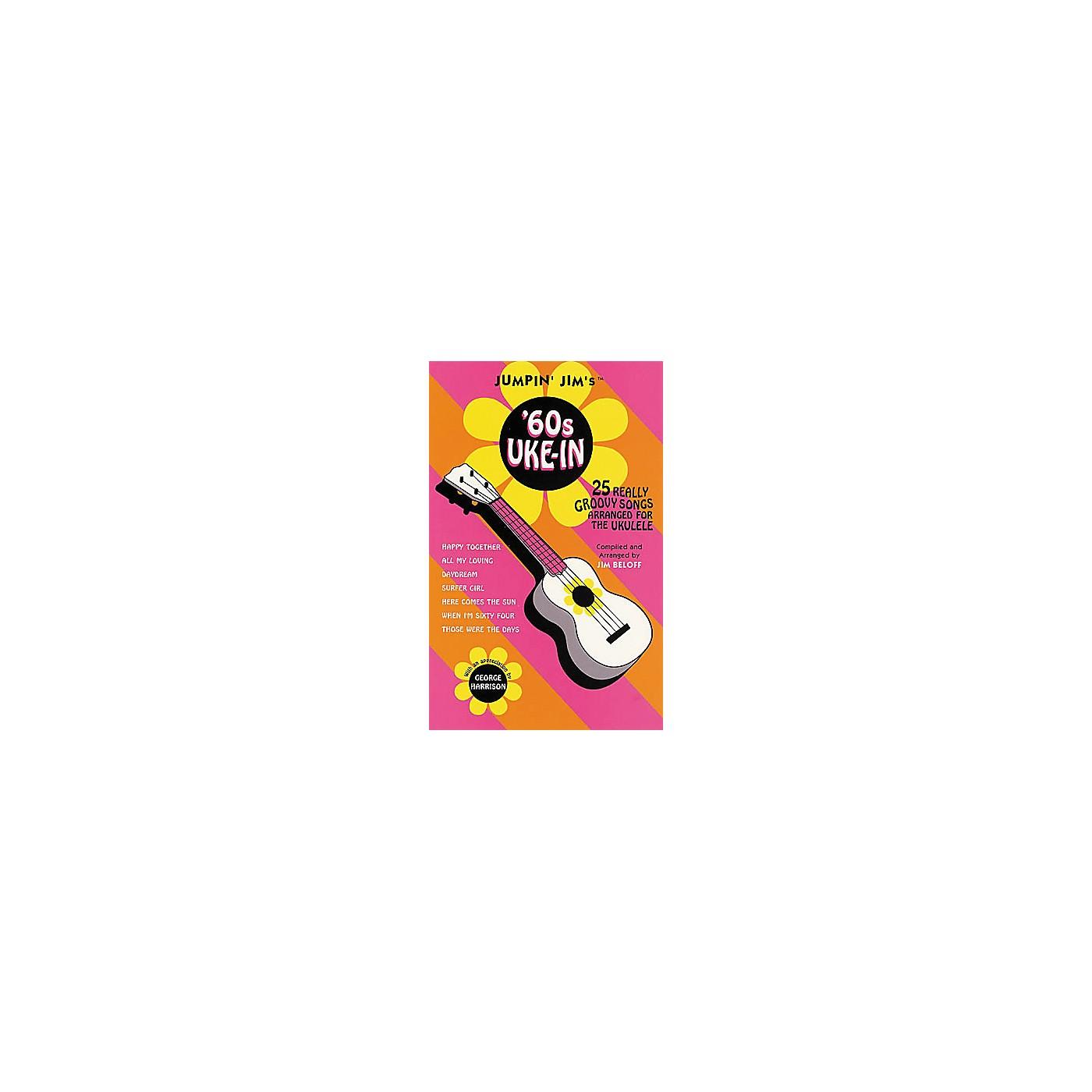 Hal Leonard Jumpin' Jim's '60s Uke-In Tab Songbook thumbnail
