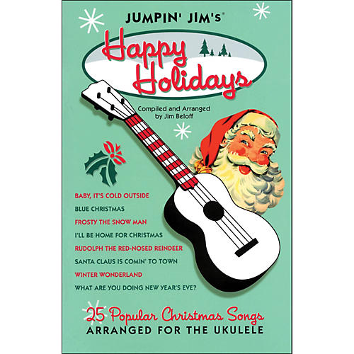 Hal Leonard Jumpin' Jim's Happy Holidays Uke Songbook-thumbnail