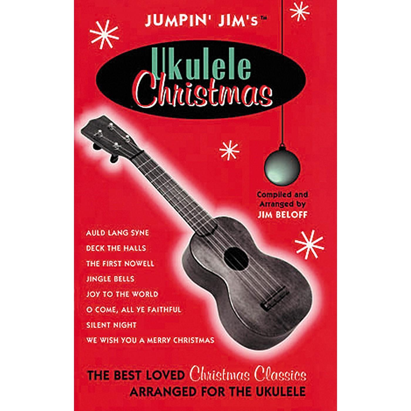Hal Leonard Jumpin' Jim's Ukulele Christmas Tab Songbook thumbnail