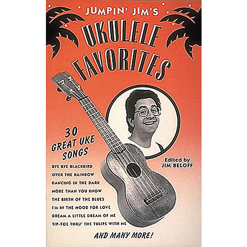 Hal Leonard Jumpin' Jim's Ukulele Favorites Tab Songbook thumbnail