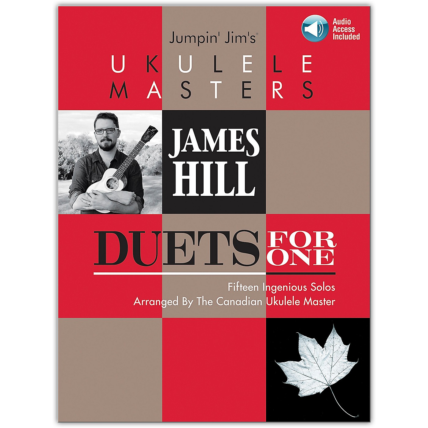 Hal Leonard Jumpin' Jim's Ukulele Masters: James Hill - Duets For One Book/Audio Online thumbnail