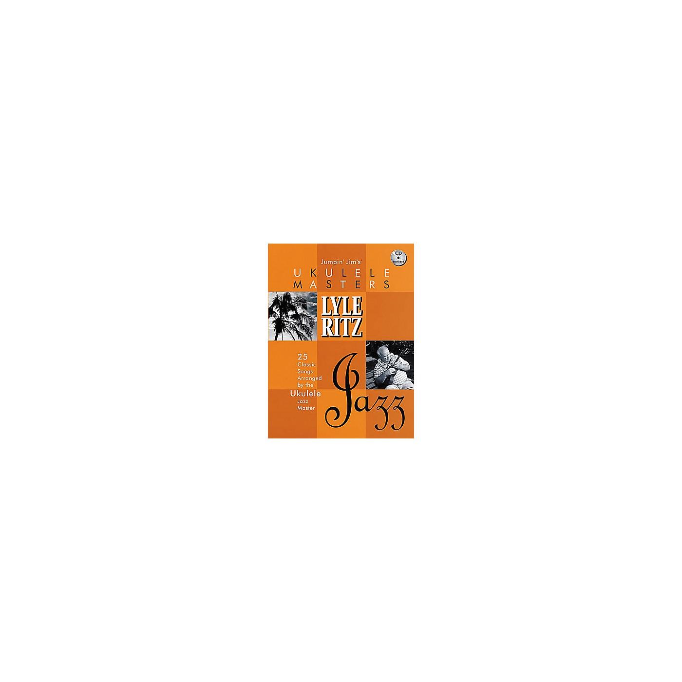 Hal Leonard Jumpin' Jim's Ukulele Masters: Lyle Ritz (Book/CD) thumbnail