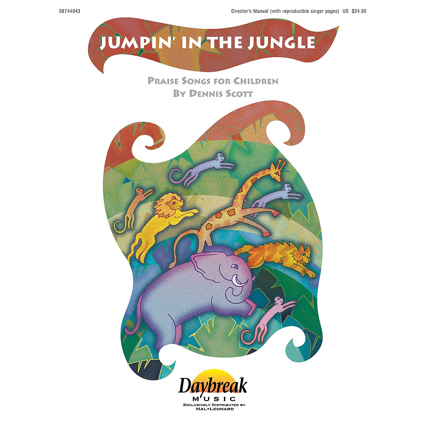 Daybreak Music Jumpin' in the Jungle PREV CD Composed by Dennis Scott thumbnail