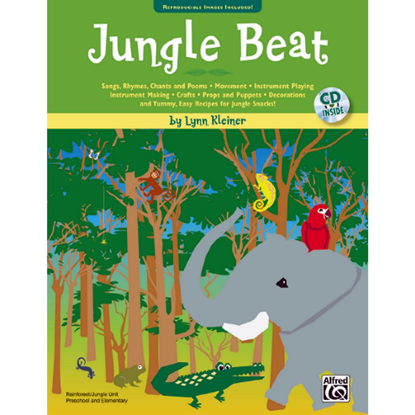 Alfred Jungle Beat Book & CD thumbnail