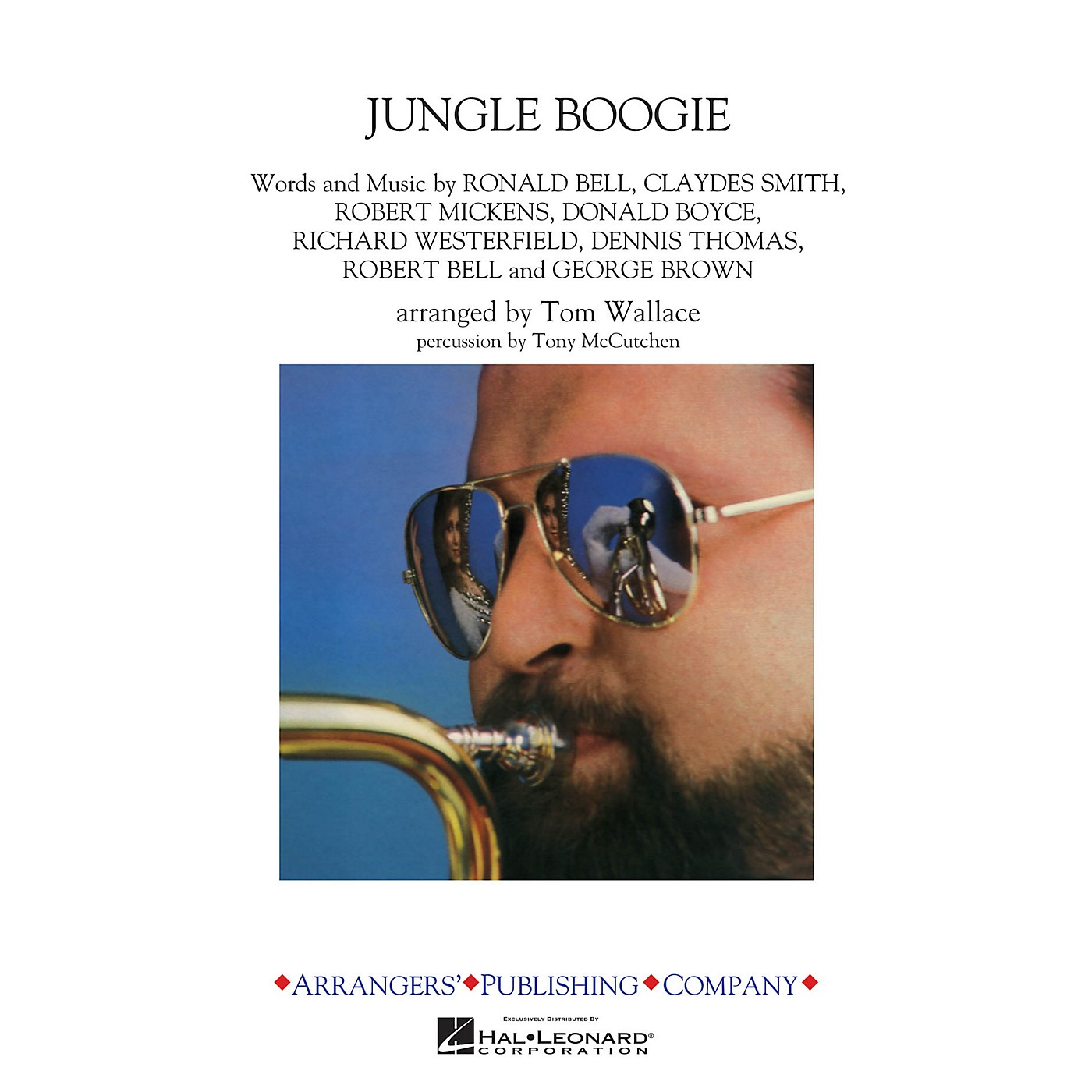 Arrangers Jungle Boogie Marching Band Level 3 by Kool & The Gang Arranged by Tom Wallace thumbnail