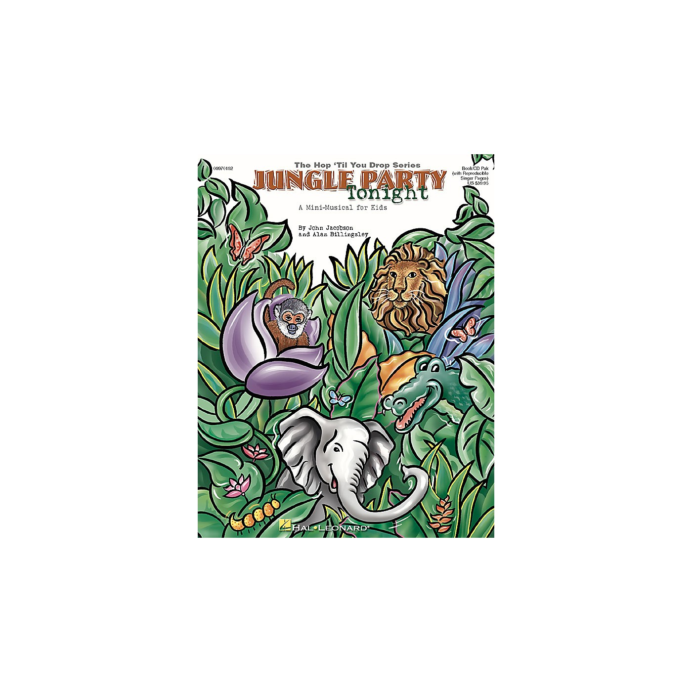 Hal Leonard Jungle Party Tonight (Musical) (A Mini-Musical for Young Singers) Composed by John Jacobson thumbnail