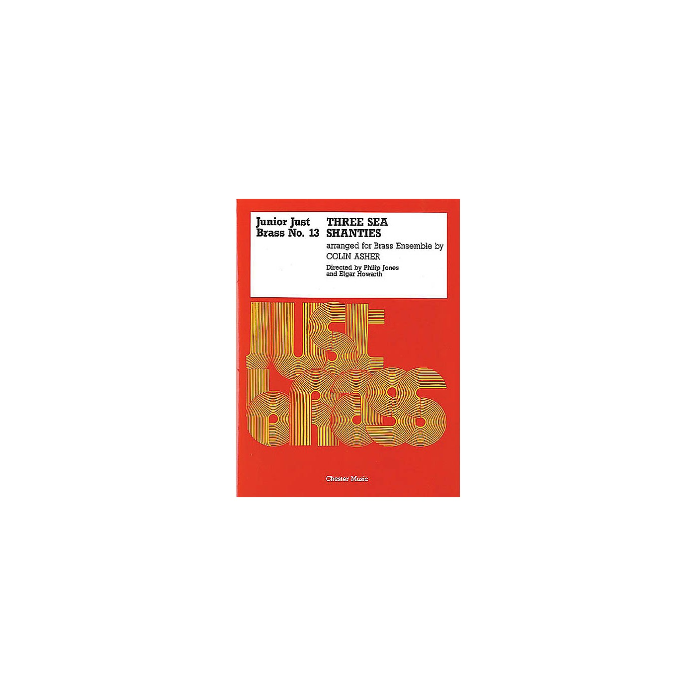 Music Sales Junior Just Brass 13: Three Sea Shanties Music Sales America Series thumbnail