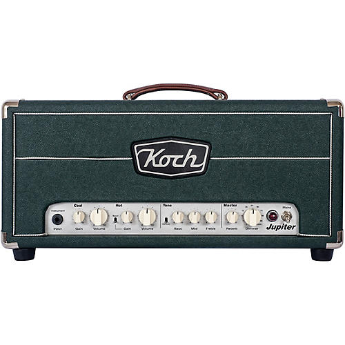 koch british racing green jupiter 45 45w tube hybrid guitar amp head woodwind brasswind. Black Bedroom Furniture Sets. Home Design Ideas