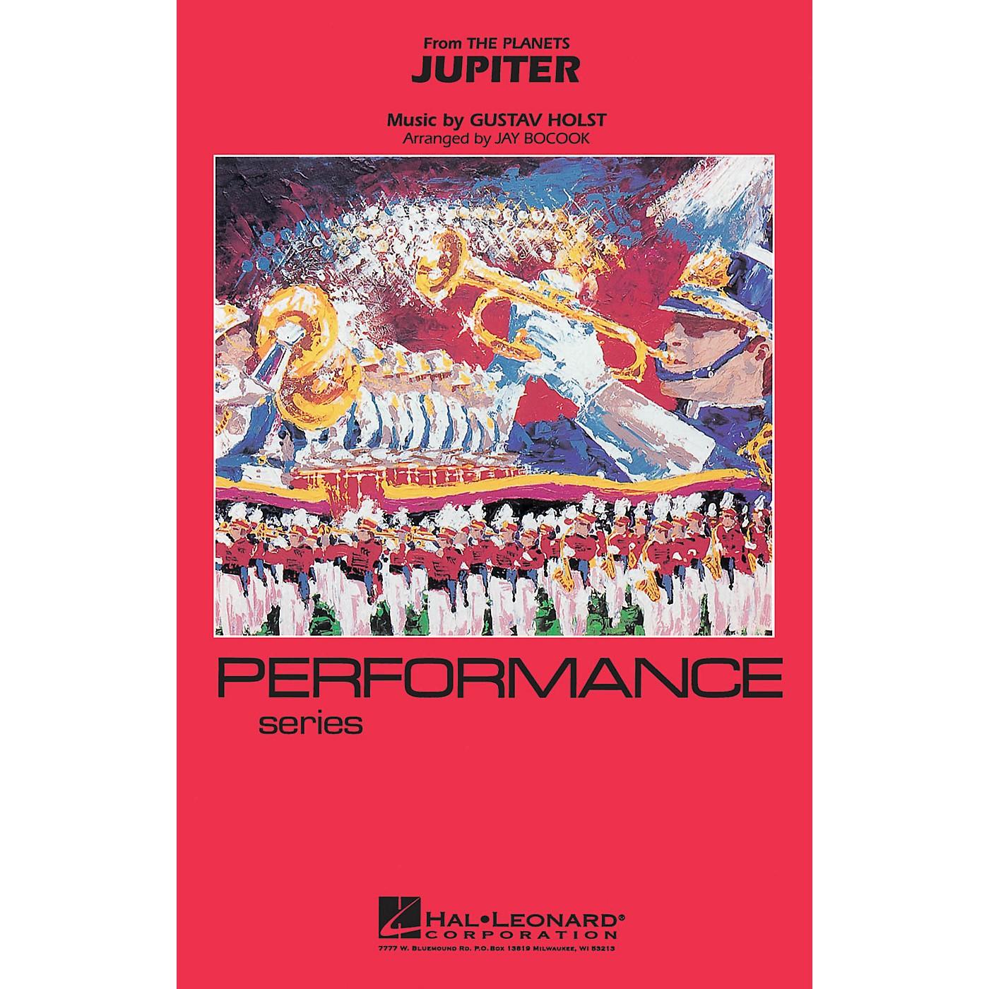 Hal Leonard Jupiter Marching Band Level 3-4 Arranged by Jay Bocook thumbnail