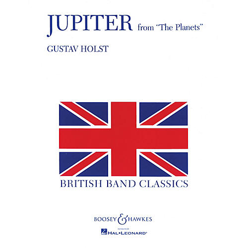 Boosey and Hawkes Jupiter (from The Planets) Concert Band Composed by Gustav Holst thumbnail