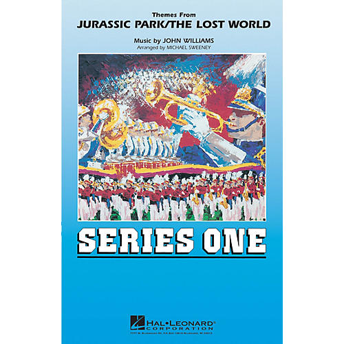 MCA Jurassic Park/The Lost World Marching Band Level 2 by John Williams Arranged by Michael Sweeney thumbnail
