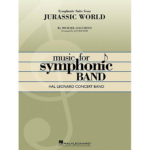 Hal Leonard Jurassic World (Symphonic Suite) Concert Band Level 4 Arranged by Jay Bocook thumbnail
