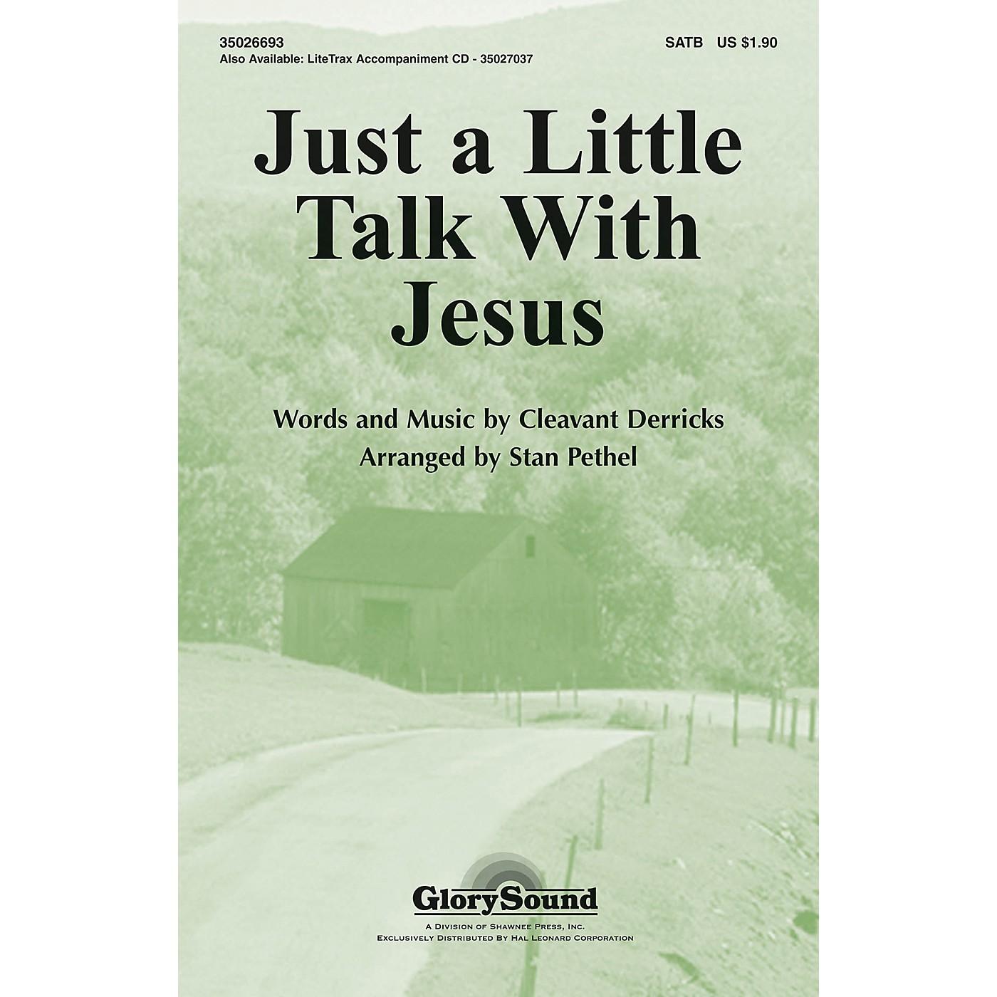 Hal Leonard Just A Little Talk With Jesus SATB thumbnail