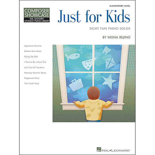 Hal Leonard Just For Kids  -Eight Fun Piano Solos -Composer Showcase Elementary Level thumbnail