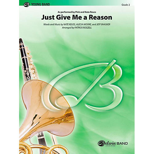 Alfred Just Give Me a Reason Concert Band Level 2 Set thumbnail