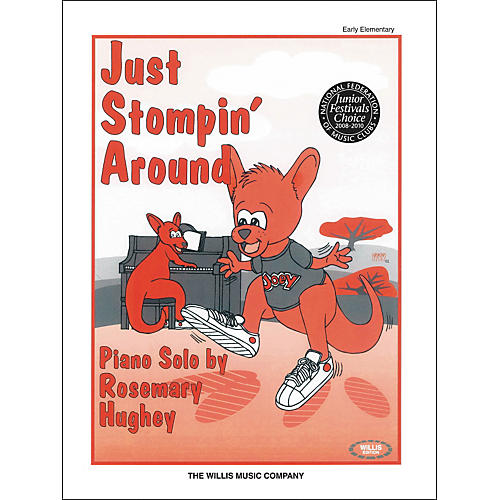Willis Music Just Stompin' Around Early Elementary Piano Solo by Rosemary Hughey thumbnail