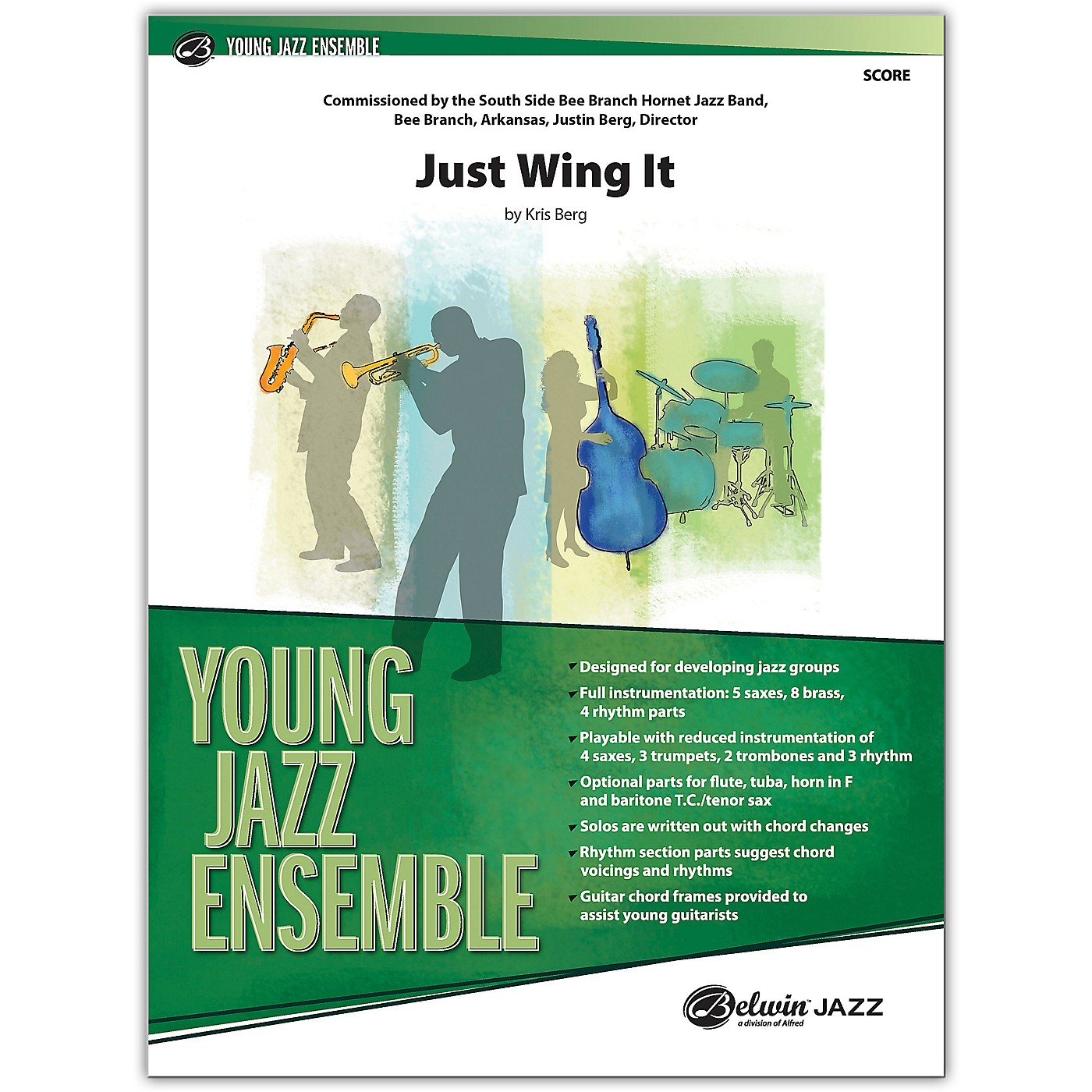BELWIN Just Wing It Conductor Score 2.5 (Medium Easy) thumbnail