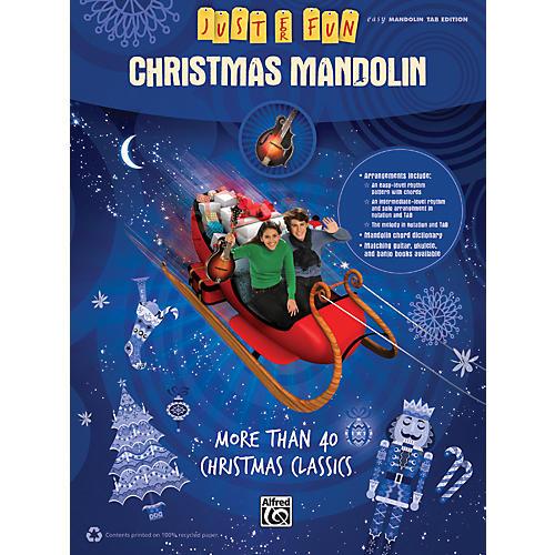Alfred Just for Fun Christmas Mandolin-thumbnail