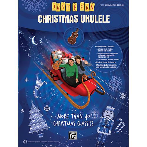 Alfred Just for Fun Christmas Ukulele thumbnail