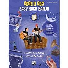 Alfred Just for Fun: Easy Rock Banjo (Book)