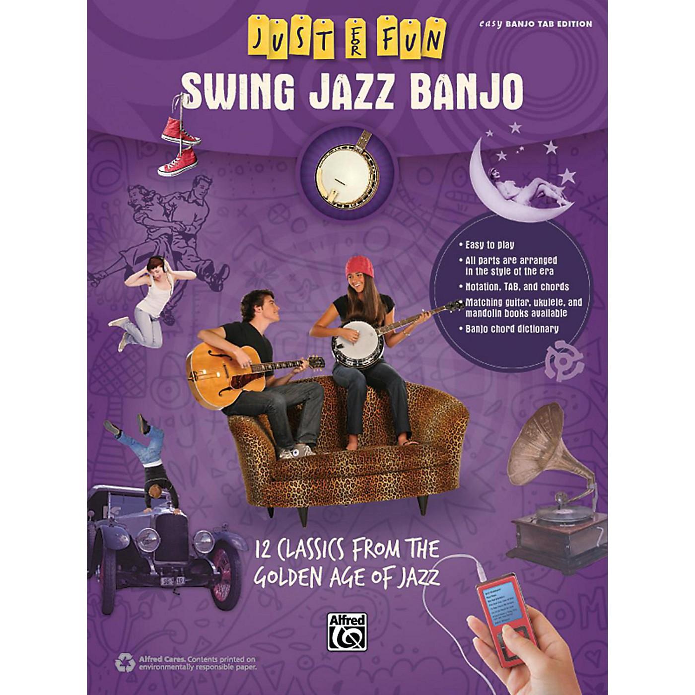 Alfred Just for Fun Swing Jazz Banjo Book thumbnail