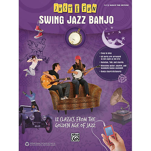 Alfred Just for Fun Swing Jazz Banjo Book thumbnail